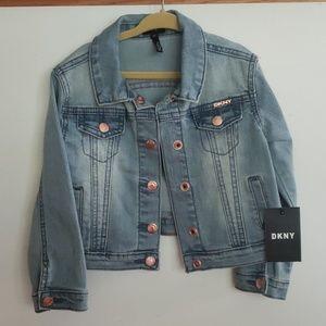 DKNY size 4T girl jean jacket - NWT